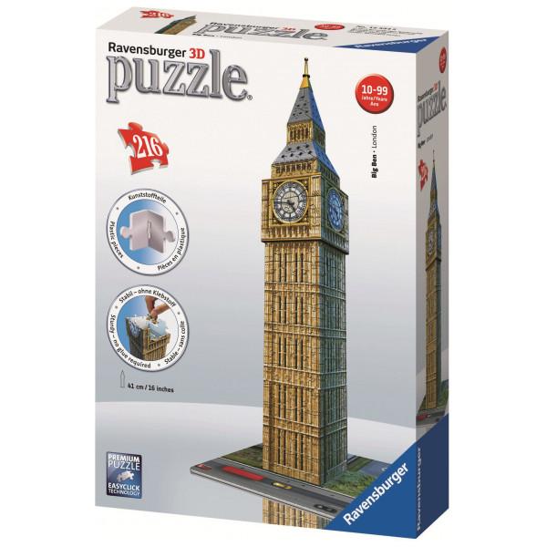 Ravensburger Pussel Ravensbuger - 3D Puzzle - Buildings - Big Ben från Ravensburger