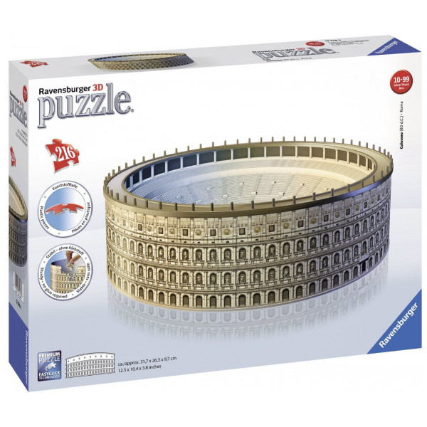 Ravensburger Pussel Ravensbuger - 3D Puzzle - Buildings - The Colosseum från Ravensburger