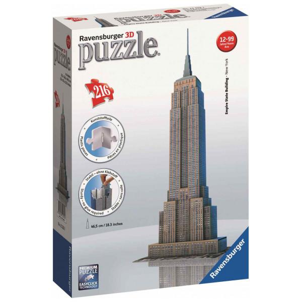 Ravensburger Pussel Ravensbuger - 3D Puzzle - Empire State Building från Ravensburger