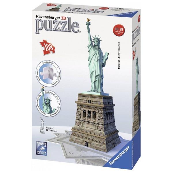 Ravensburger Pussel Ravensbuger - 3D Puzzle - Statue Of Liberty från Ravensburger