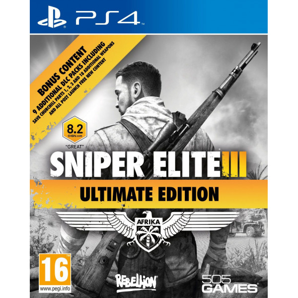 Rebellion Software Tv-Spel Sniper Elite Iii 3 - Ultimate Edition från Rebellion software