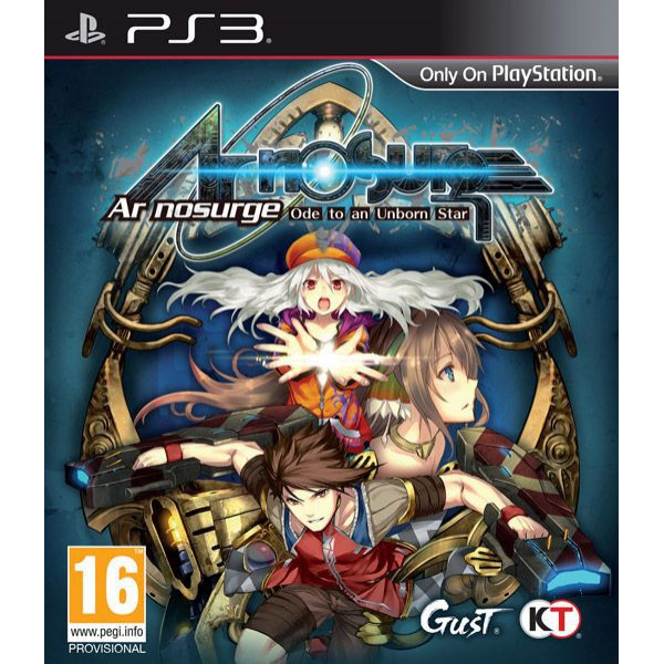 Reef Entertainment Tv-Spel Ar Nosurge Ode To An Unborn Star från Reef entertainment