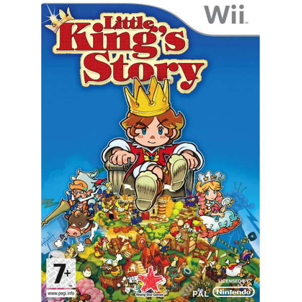 Rising Star Tv-Spel Little King's Story från Rising star