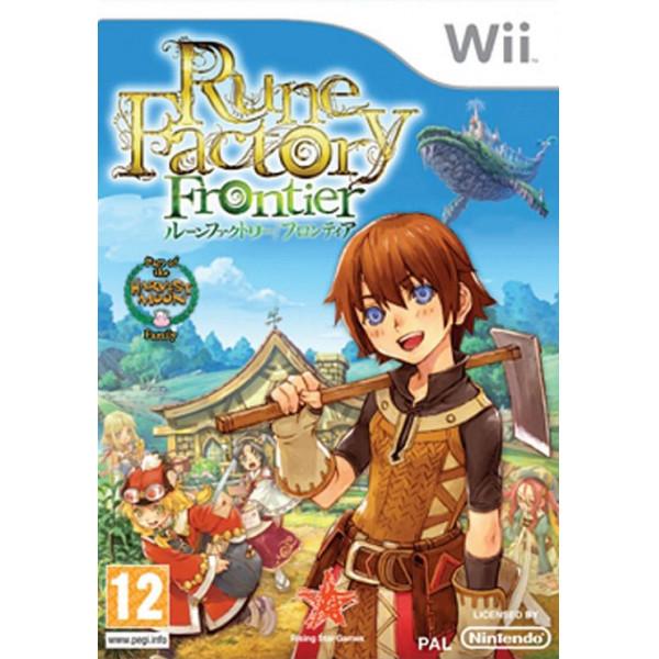 Rising Star Tv-Spel Rune Factory Frontier från Rising star