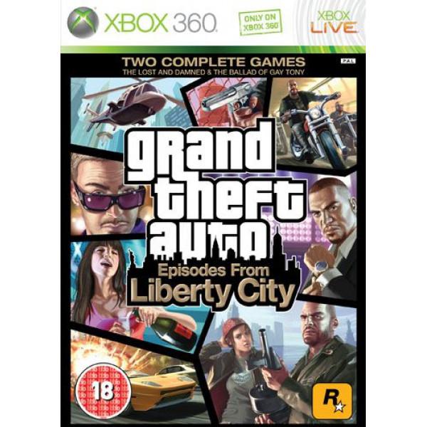 Rockstar Tv-Spel Grand Theft Auto Episodes From Liberty City Gta från Rockstar
