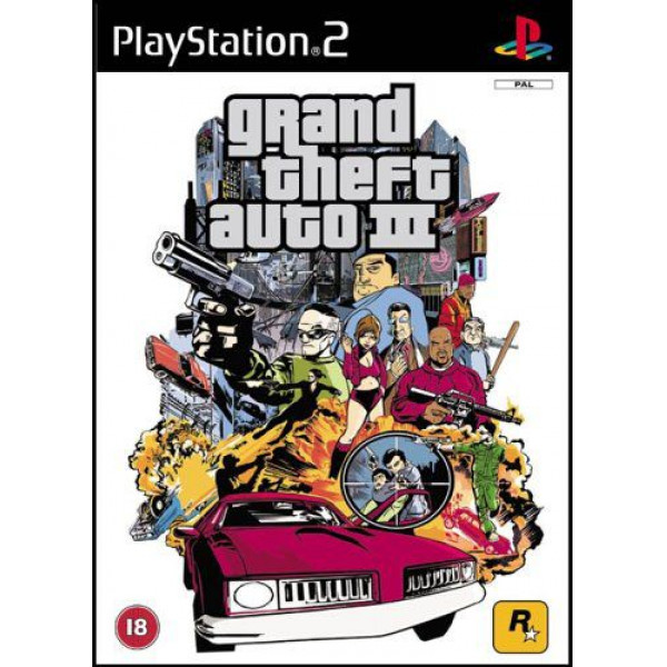 Rockstar Tv-Spel Grand Theft Auto Iii från Rockstar
