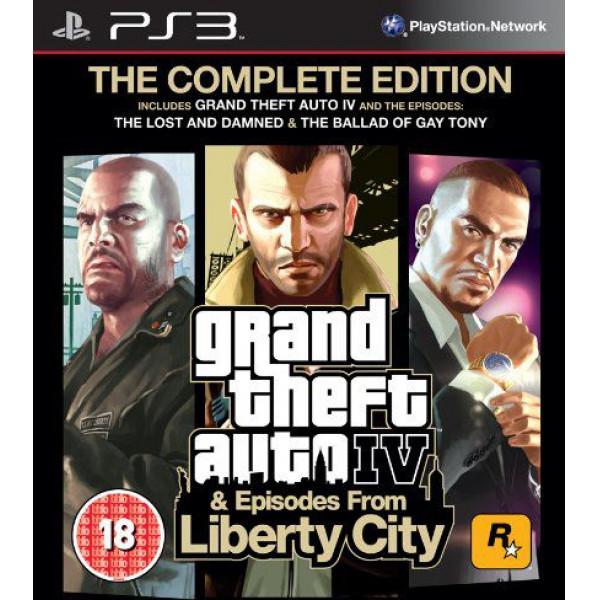 Rockstar Tv-Spel Grand Theft Auto Iv Gta 4 Complete Edition från Rockstar