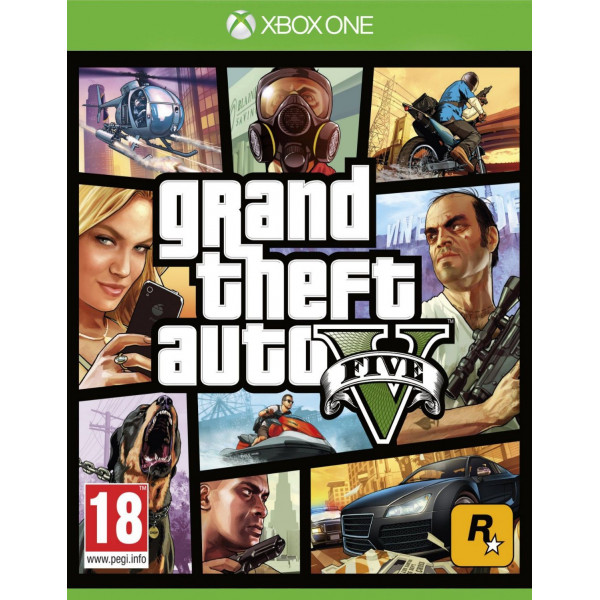 Rockstar Tv-Spel Grand Theft Auto V Gta 5 från Rockstar