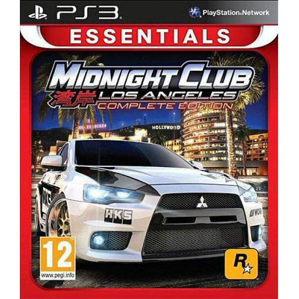Rockstar Tv-Spel Midnight Club Los Angeles Complete Edition Essentials från Rockstar
