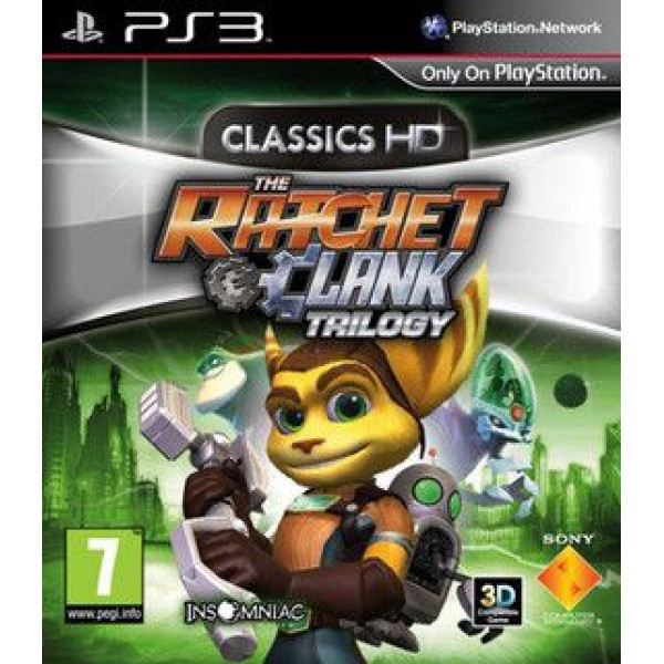Scee Tv-Spel Ratchet & Clank Trilogy Hd Collection Nordic från Scee