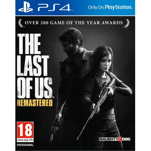 Scee Tv-Spel The Last Of Us - Remastered från Scee