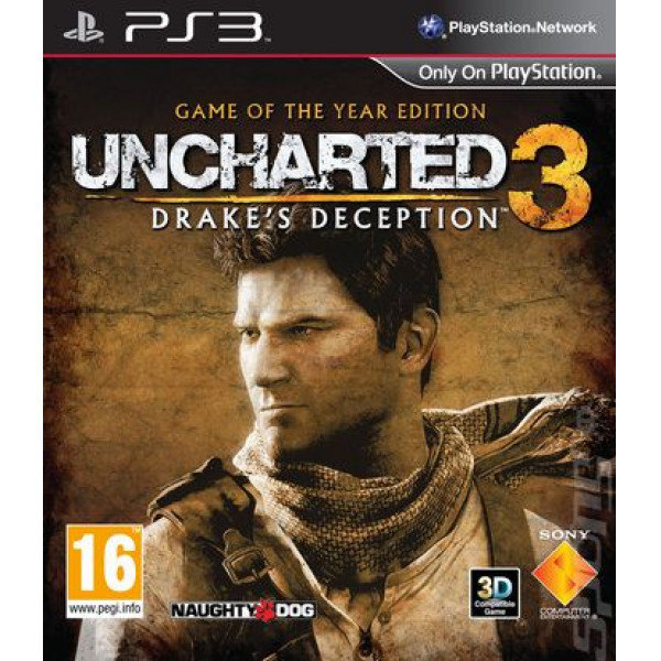 Scee Tv-Spel Uncharted 3 Drake's Deception - Game Of The Year Edition från Scee