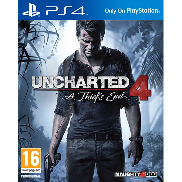 Scee Tv-Spel Uncharted 4 A Thief's End Nordic från Scee