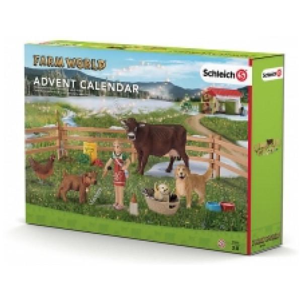 Schleich Miniatyrfigur Adventkalender Farmlife från Schleich
