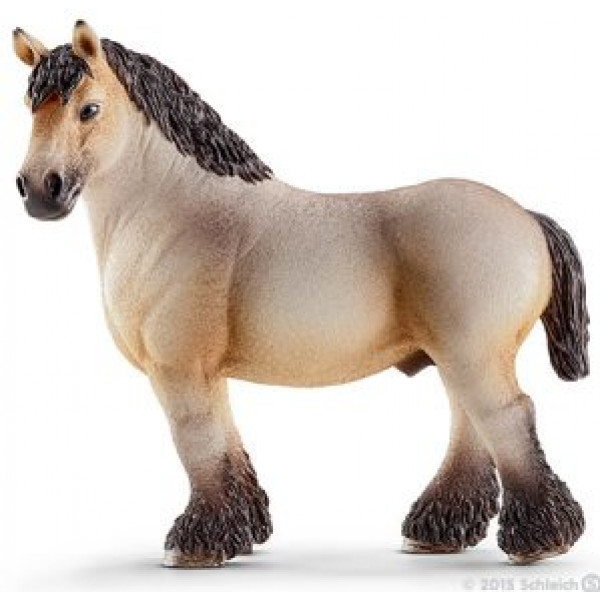 Schleich Miniatyrfigur Ardennes Stallion 13778 från Schleich