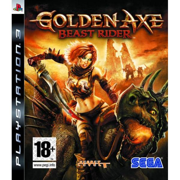 Sega Games Tv-Spel Golden Axe Beast Rider från Sega games