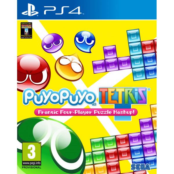 Sega Games Tv-Spel Puyo Tetris från Sega games