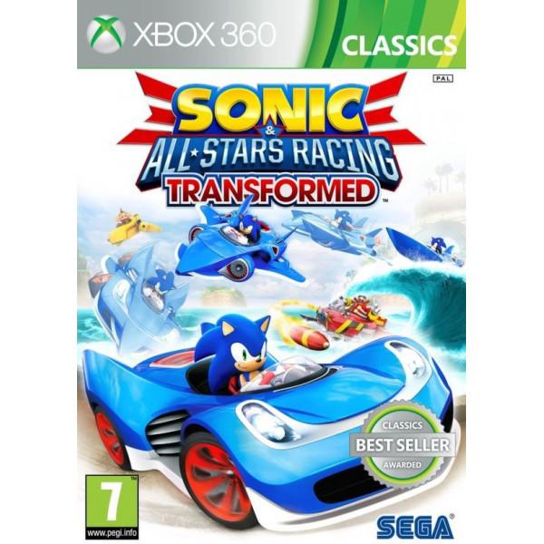 Sega Games Tv-Spel Sonic And All Stars Racing Transformed Classics från Sega games