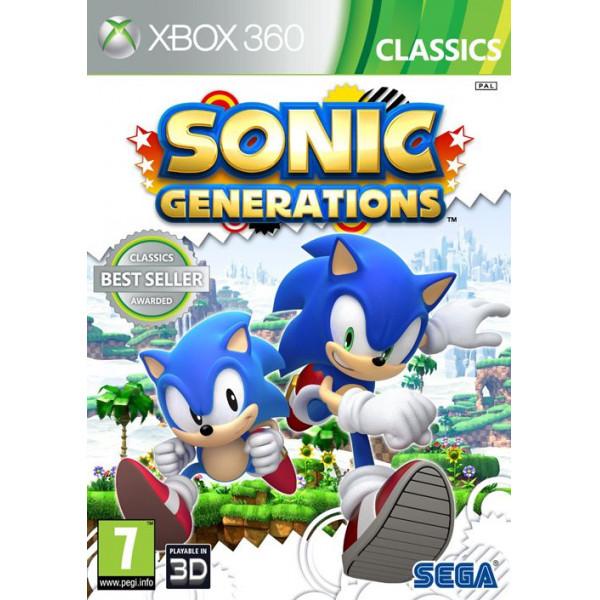 Sega Games Tv-Spel Sonic Generations Classics från Sega games