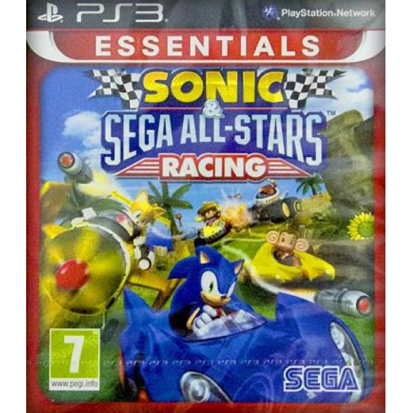 Sega Games Tv-Spel Sonic & Sega All-Stars Racing Solus Essentials från Sega games