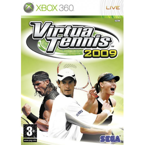 Sega Games Tv-Spel Virtua Tennis 2009 Nordic från Sega games