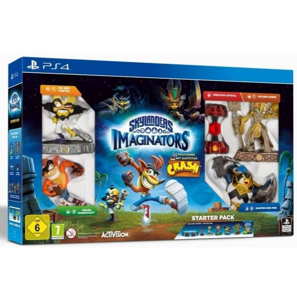 Skylanders Tv-Spel Imaginators Starter Pack Crash Bandicoot Edition från Skylanders