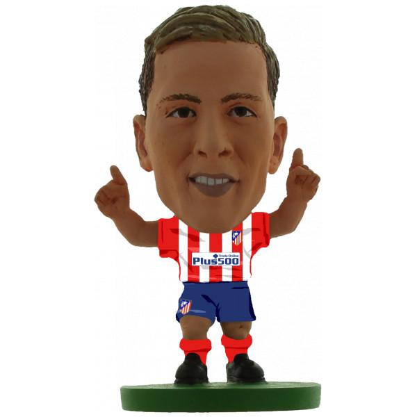 Soccerstarz Miniatyrfigur Atletico Madrid Fernando Torres - Home Kit Classic från Soccerstarz