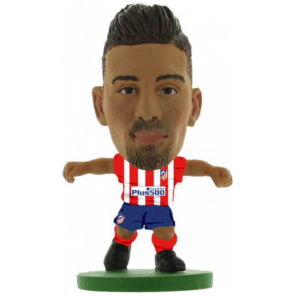 Soccerstarz Miniatyrfigur Atletico Madrid Yannick Ferreira Carrasco - Home Kit Classic från Soccerstarz