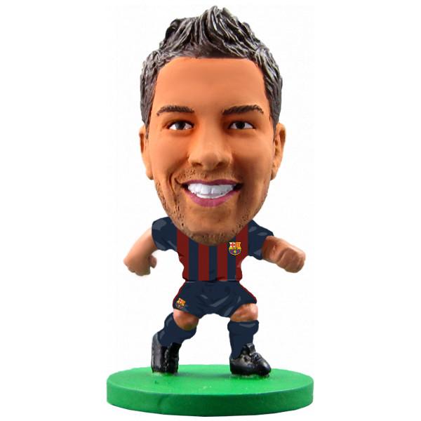 Soccerstarz Miniatyrfigur Barcelona Jordi Alba - Home Kit 2018 Version från Soccerstarz