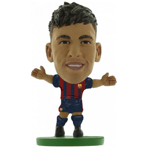 Soccerstarz Miniatyrfigur Barcelona Neymar Jr - Home Kit 2018 Version från Soccerstarz