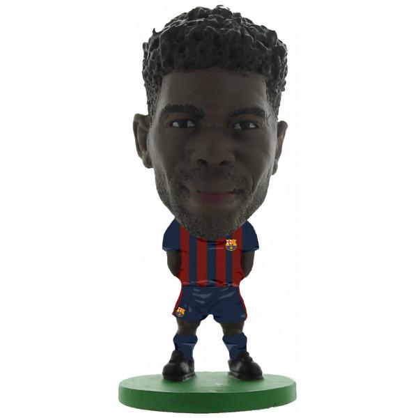 Soccerstarz Miniatyrfigur Barcelona Samuel Umtiti - Home Kit 2018 Version från Soccerstarz