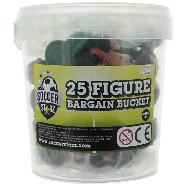 Soccerstarz Miniatyrfigur Bargain Bucket 25 Pieces Standard från Soccerstarz