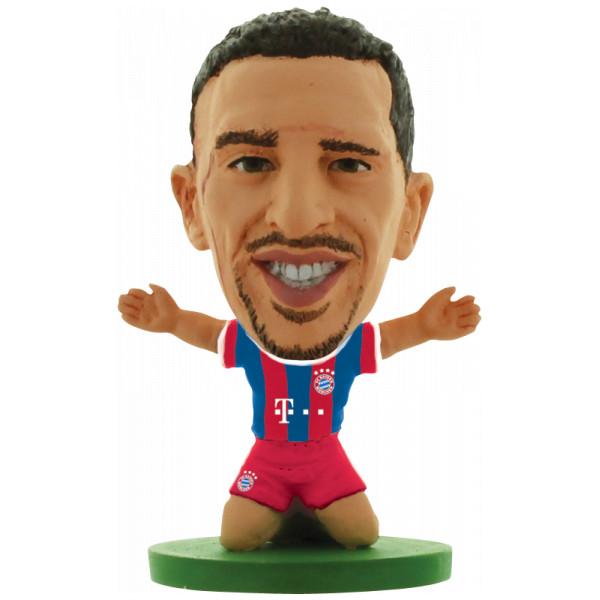 Soccerstarz Miniatyrfigur Bayern Munich Franck Ribery - Home Kit från Soccerstarz