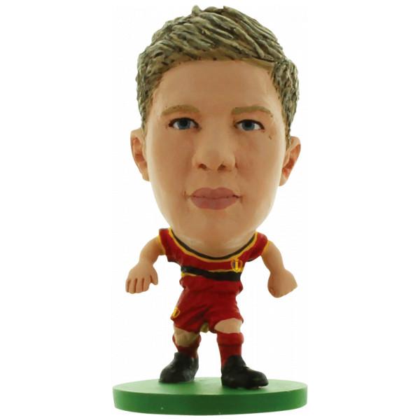 Soccerstarz Miniatyrfigur Belgium Kevin De Bruyne från Soccerstarz
