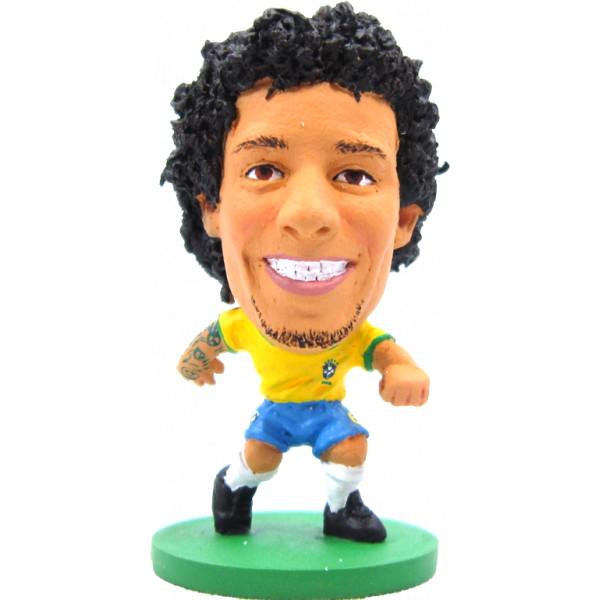 Soccerstarz Miniatyrfigur Brazil Marcelo Viera - Home Kit från Soccerstarz