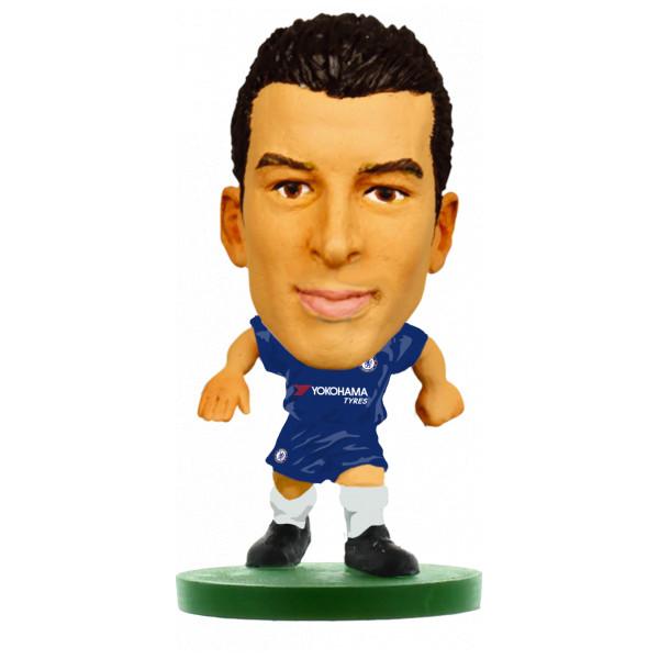 Soccerstarz Miniatyrfigur Chelsea Pedro - Home Kit 2018 Version från Soccerstarz