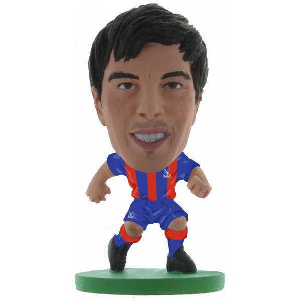 Soccerstarz Miniatyrfigur Crystal Palace James Tomkins - Home Kit Classic från Soccerstarz
