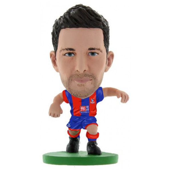 Soccerstarz Miniatyrfigur Crystal Palace Scott Dann - Home Kit Classic från Soccerstarz