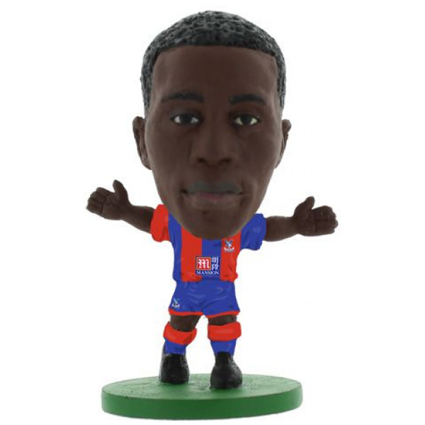 Soccerstarz Miniatyrfigur Crystal Palace Wilfried Zaha - Home Kit Classic från Soccerstarz