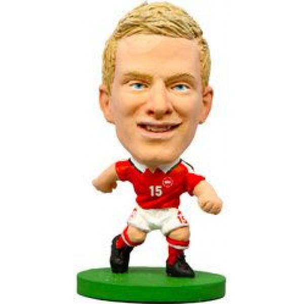 Soccerstarz Miniatyrfigur Denmark Nicolai Boilesen från Soccerstarz
