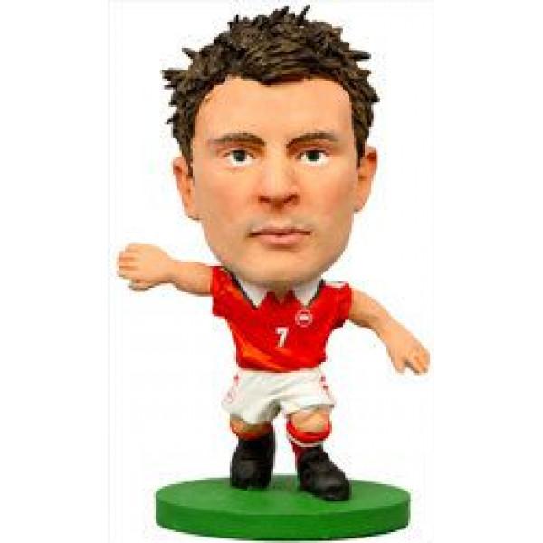 Soccerstarz Miniatyrfigur Denmark William Kvist från Soccerstarz