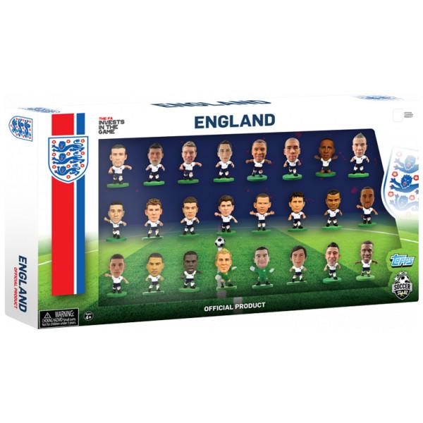 Soccerstarz Miniatyrfigur England - 24 Players Team Pack 2016 från Soccerstarz