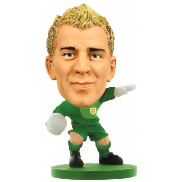 Soccerstarz Miniatyrfigur England Joe Hart från Soccerstarz