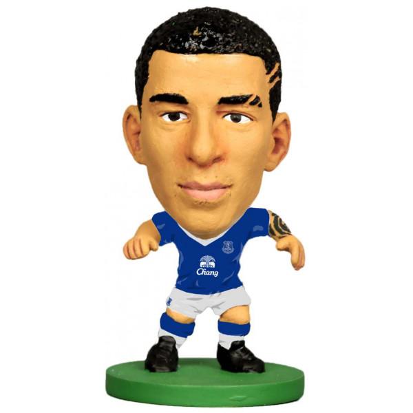 Soccerstarz Miniatyrfigur Everton Aaron Lennon - Home Kit Classic från Soccerstarz