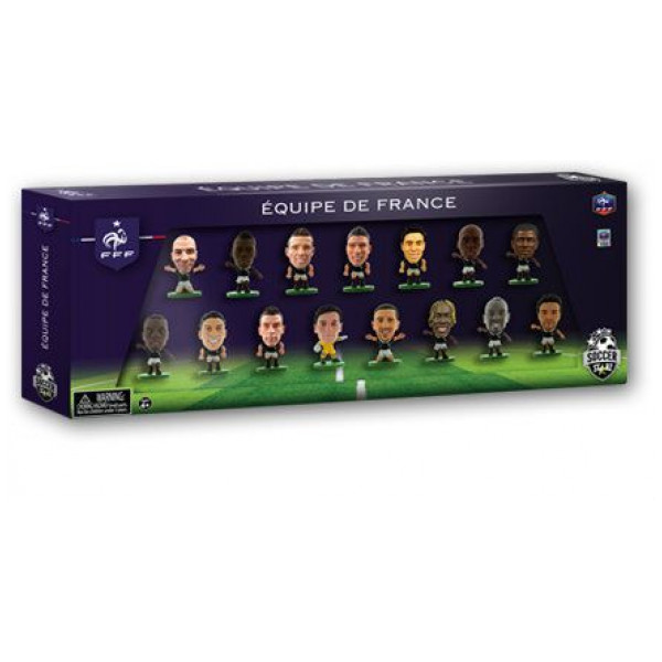 Soccerstarz Miniatyrfigur France 15 Player Team Pack från Soccerstarz