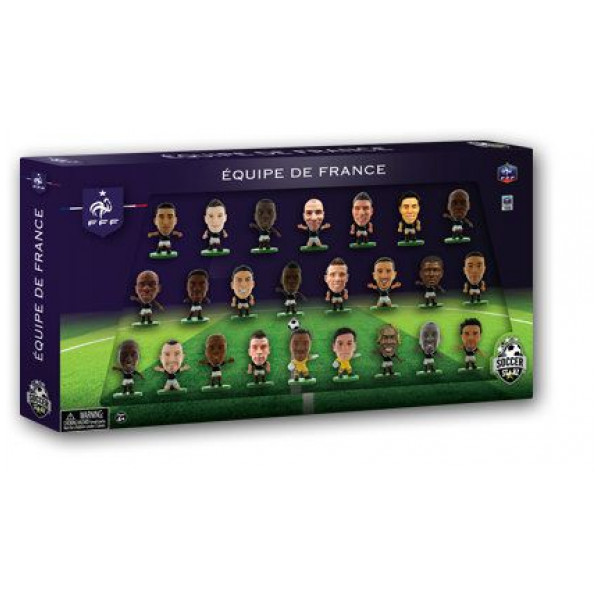 Soccerstarz Miniatyrfigur France 24 Player Team Pack från Soccerstarz