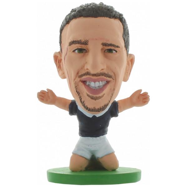 Soccerstarz Miniatyrfigur France Franck Ribery från Soccerstarz