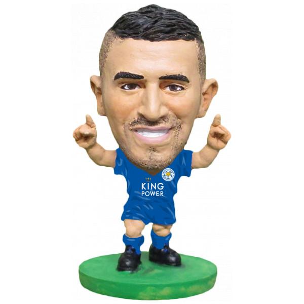 Soccerstarz Miniatyrfigur Leicester Riyad Mahrez - Home Kit Classic från Soccerstarz