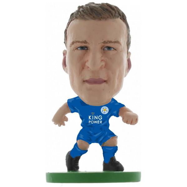 Soccerstarz Miniatyrfigur Leicester Robert Huth - Home Kit Classic från Soccerstarz