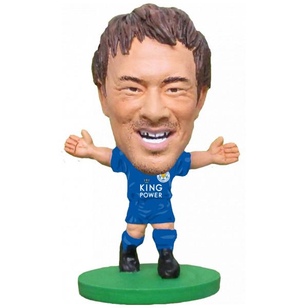 Soccerstarz Miniatyrfigur Leicester Shinji Okazaki - Home Kit Classic från Soccerstarz